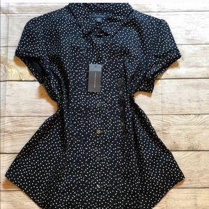 Tommy Hilfiger Polka Dot Button Down Shirt